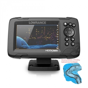 Lowrance Hook Reveal 5 83/200 HDI ROW