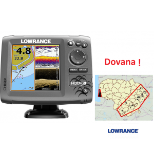 Lowrance HOOK-5 Mid/High/Downscan
