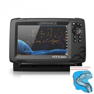 Lowrance Hook Reveal 7 83/200 HDI ROW