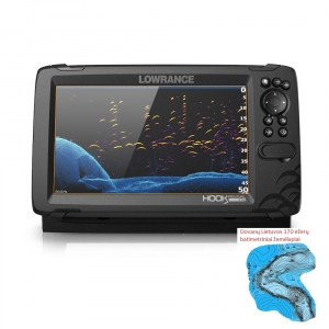 Lowrance Hook Reveal 9 50/200 HDI ROW