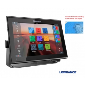 GO12 Multi-function display be sonarų