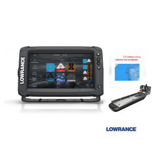 Navigatorius Lowrance Elite-9Ti² su Active Imaging 3-in-1 sonaru